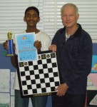 Tournament Winner Vinay Lakshman & Robert Jamieson